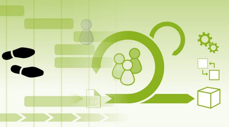 Grafik Projektmanagement - agil, klassisch oder hybrid