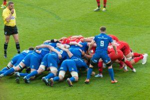 Bild Rugby Scrum
