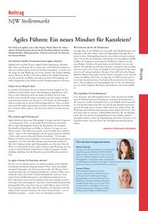 Interview zum agilen Mindset: Die tragenden Werte für Agilität und New Work